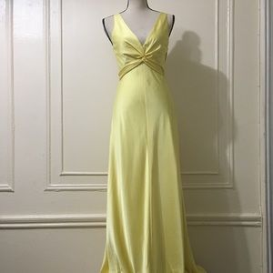 BCBG Yellow Gown